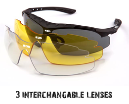Stealth sunglasses - alternative lenses